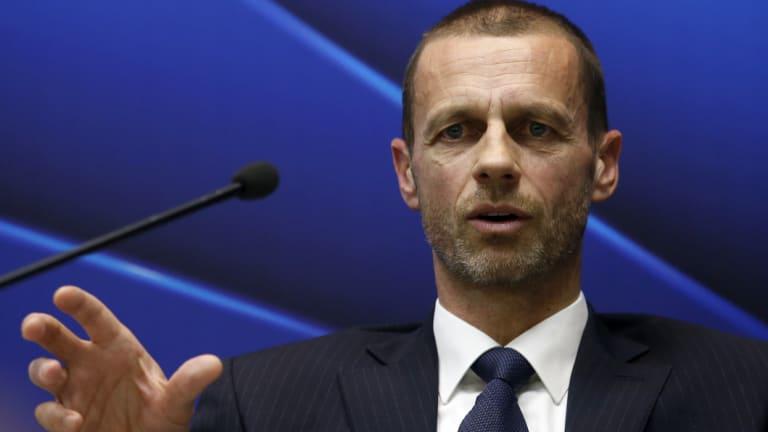 UEFA president Aleksander Ceferin.