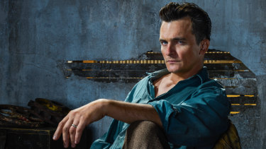 Rupert Friend stars as Ernest Donovan in Strange Angel.