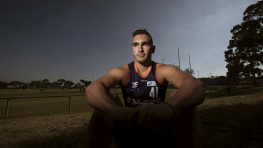 At just 18 years of age, John Roumeliotis has damaged his ACL three times.