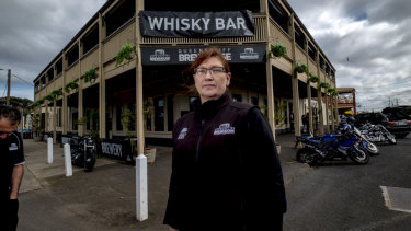 Deb Murray, manager of the Brewhouse.