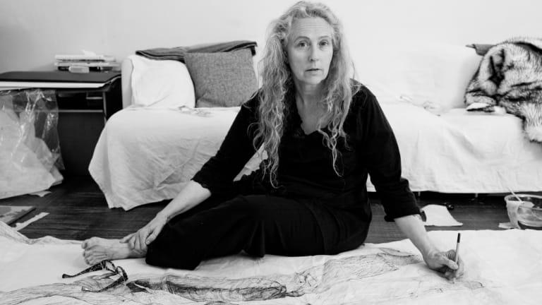 "Daring New York artist Kiki Smith: ""I am a very sentimental person""."
