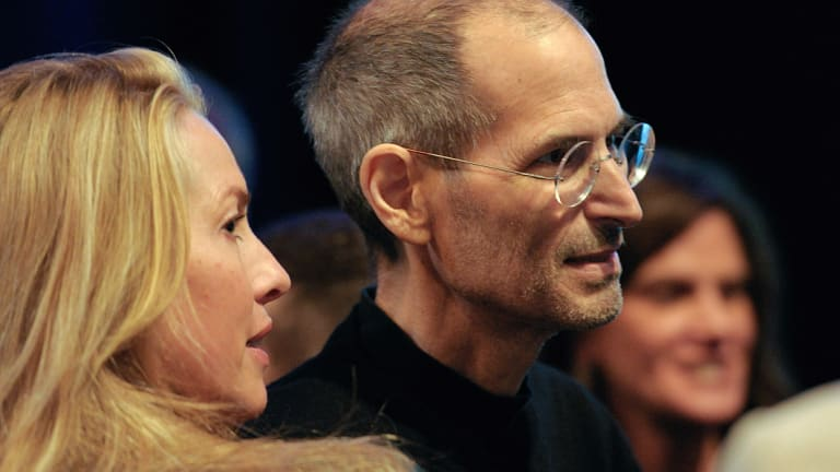 Steve Jobs' wife, Laurene Powell Jobs, gets the best line in the book.