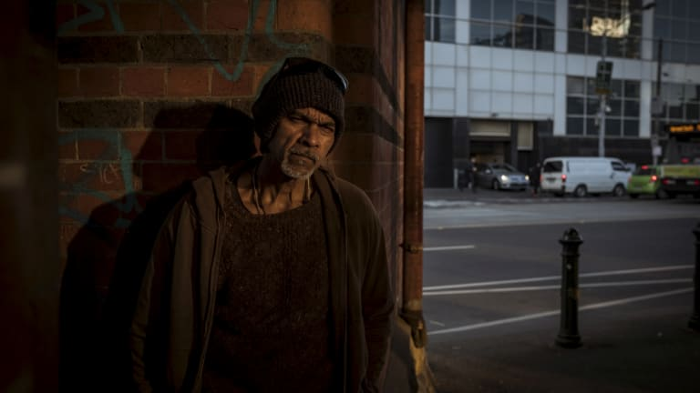 "Raymond Young had been homeless ""on and off"" for more than 30 years."