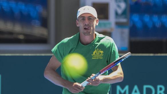 Millman first Aussie up in Davis Cup tie