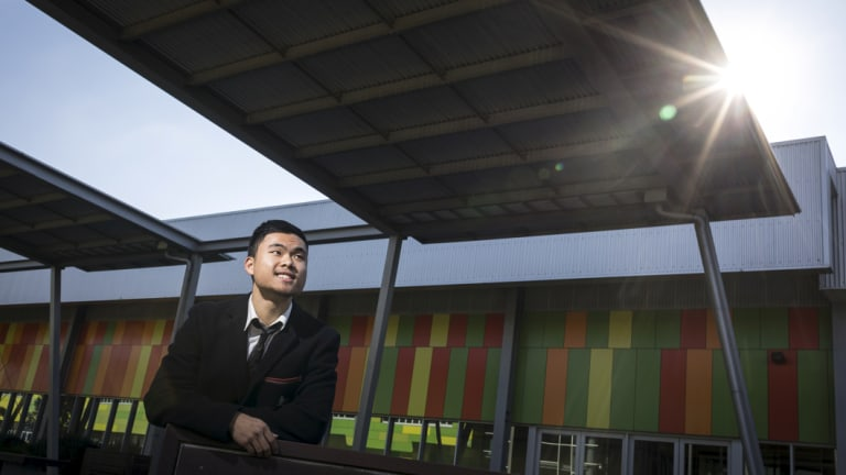 Nossal High School student Ryan Wijaya says there is more to his school than high ATARs