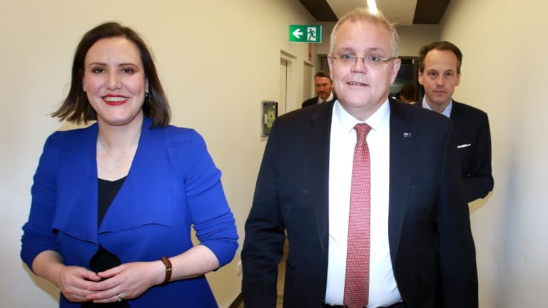 Then Minister for Revenue and Financial Services Kelly O'Dwyer was involved in reviewing financial adviser education levels.