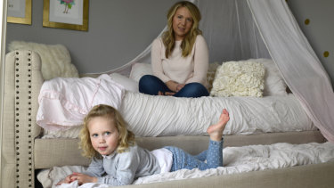 Tara Thomas had a Nest camera in the bedroom of her daughter Avery, 3, which was hacked back in August.