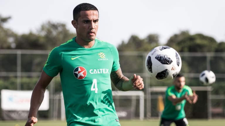 Veteran: Tim Cahill has barely played in 2018.