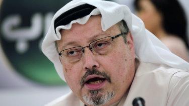 Murdered Saudi journalist Jamal Khashoggi, an outspoken critic of the desert kingdom.