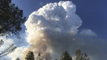 More extreme fires, more often. The Carr Fire burns near Redding, California.