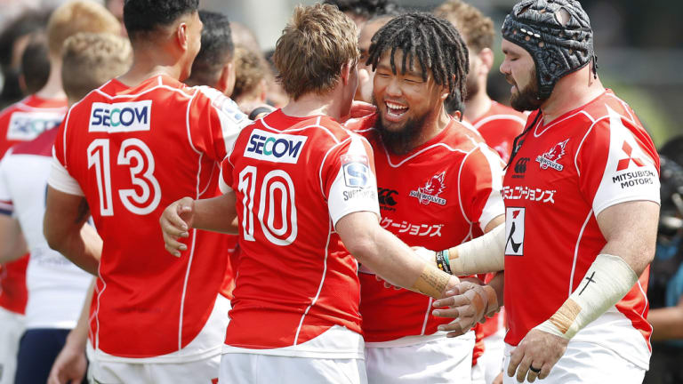 The Sunwolves are enjoying their best season yet under Jamie Joseph and Tony Brown.