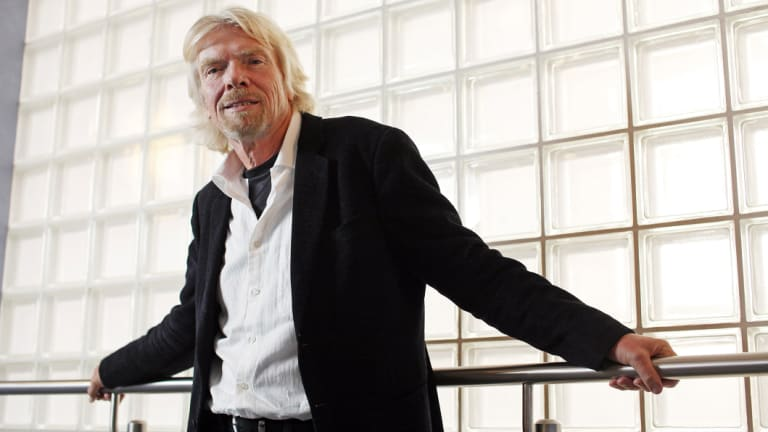 Richard Branson's Virgin Group is an example of an innovator in a sector of slow-moving incumbents.