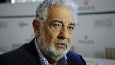 Investigated: Placido Domingo has been accused of sexual harassment and inappropriate behaviour, which the opera singer has denied.