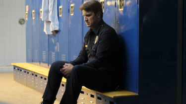 Tough on the knees: Fillion is more aware of his own limitations given his age.