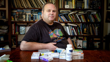 Derek Screen is one of the many Australians that has fallen victim to medication error.