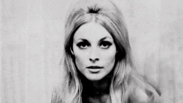 Actress Sharon Tate.