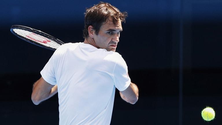 Focus: Federer is hunting his 21st slam.