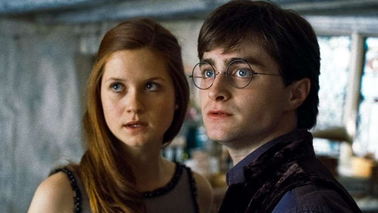 Ginny Weasley and Harry Potter ended up getting married and having children at the end of the franchise.