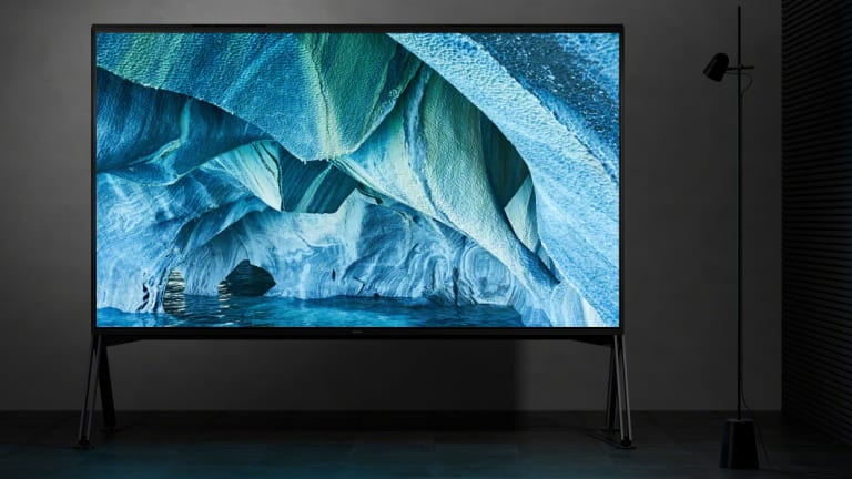 Sony unveiled only one 8K TV; an 85-inch LCD.