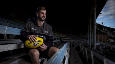Former Swans premiership player Alex Johnson now has a dual role with the Northern Blues.