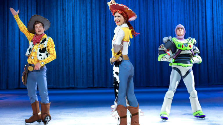 Old favourites from 'Toy Story' complete with acrobatic magic from Buzz.