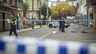 Police are the scene of a nightclub shooting in Prahran.