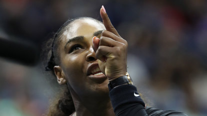 Serena is still treated differently than male athletes
