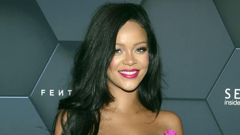 School days: pop star Rihanna and Sydney Thunder recruit Chris Jordan go back a long way.