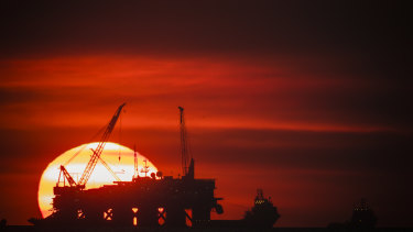 Australia's oil and gas sector's major construction boom will come to an end once Shell's Prelude floating LNG project comes online.