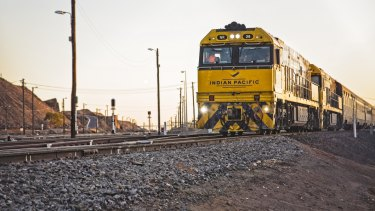 The Indian Pacific train has been affected by a mass gastro outbreak.