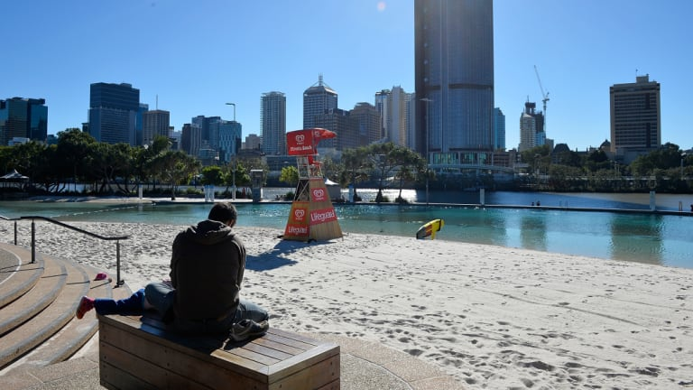 Cold nights for Brisbane, thanks to clear skies and low rainfall across July 2018.