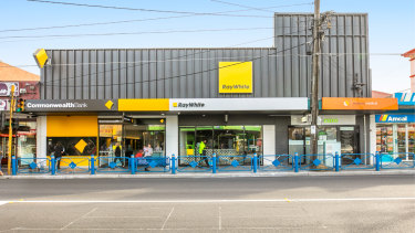 The two-level, 1336sq m building at 789 Pascoe Vale Road sold for$9.47 million.