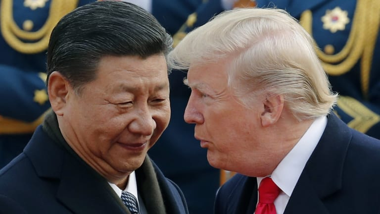 The US and China's trade war is 'senseless, says Ma.