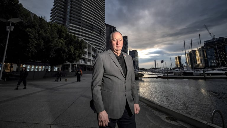 Marshall Delves lives in Docklands, and says Labor's proposed short-stay laws would have made zero difference if passed.