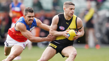 Dion Prestia topped a consistent season with his first best and fairest at Punt Road.