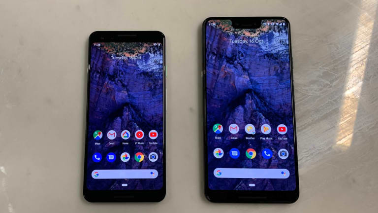The Pixel 3 XL fits in a lot more screen.