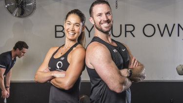 Camilla Bazley and Ben Lucas are recruiting runners to raise money and awareness for victims of domestic violence.