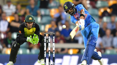 Behind a paywall: Virat Kohli would have been a star attraction for Channel Seven.
