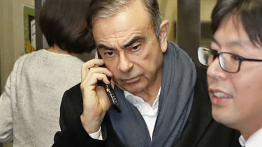 Ghosn remains holed up in Beirut after jumping bail in December and fleeing Tokyo with the help of a former Green Beret, who with his son is now facing extradition to Japan from the US.