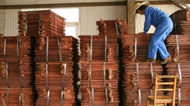 Copper is the latest product to face potential sanctions from China.