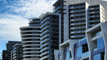 Melbourne CBD is seeing record vacancy rates.