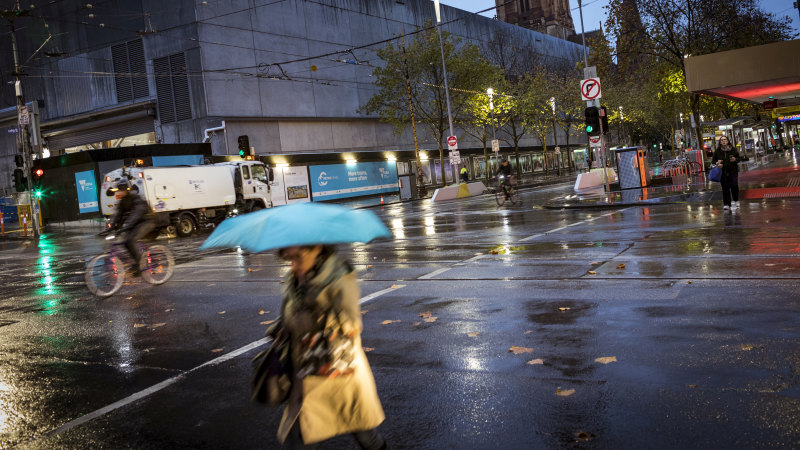 Rain, cold and 100km/h winds: Winter officially hits Melbourne