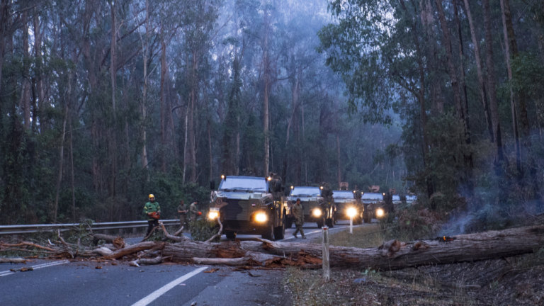 Our greatest security threat is climate change, so mobilise the ADF