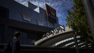 Melbourne's Crown casino in Southbank.