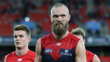 Injury cloud: Max Gawn.