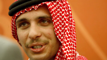 Then crown prince Hamzah bin Hussein in 2004.