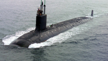 The new submarines based on US tech will not be in operation for years.