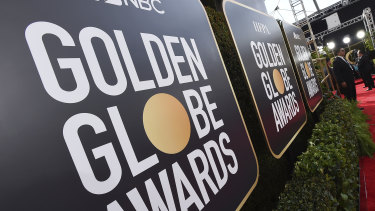 The Golden Globes are on Monday.