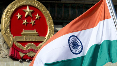 China and India - giant populations and lingering tensions.