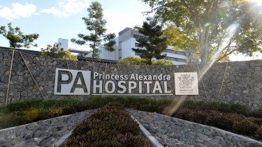 A nurse working with COVID-19 patients in Brisbane's PA Hospital has hersefl tested positive for the virus.